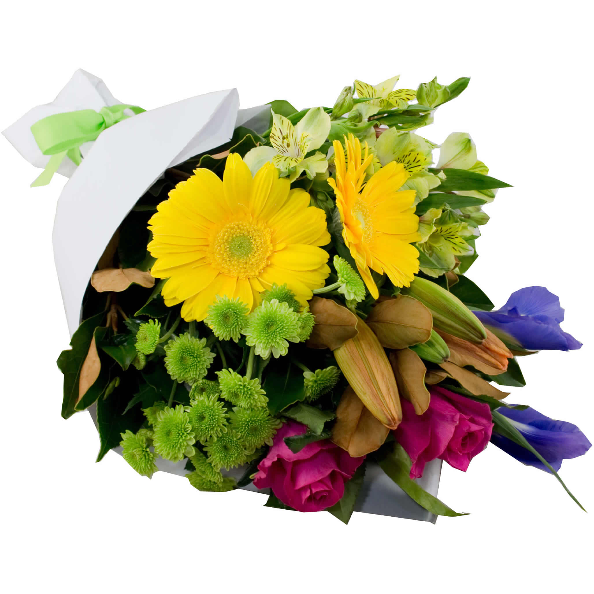 Colourful creation bright bouquet flowersales delivery australia wide izmirmasajfo