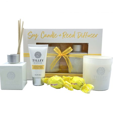 Soy Candle and Reed difuser gift