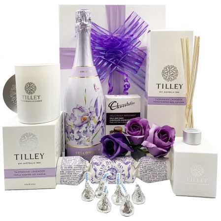 Tilleys Tasmanian Lavender Gift with Prosecco